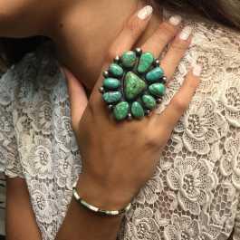 Le bijou amérindien en turquoise pour toutes vos occasions HARPO