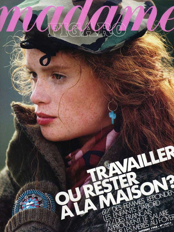 Madame Figaro, October 1988